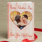 Personalized Photo Valentine's Day Cards - Vintage Heart - 14124