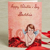 Personalized Valentine's Day Cards - Cupid Strikes - 14127