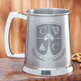 Personalized Beer Tankard - My Crest - 14146