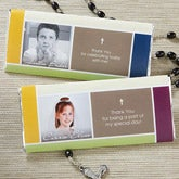 Personalized Communion Favors - Blessed Child Photo Candy Bar Wrappers - 14153