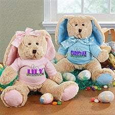 Personalized Plush Easter Bunny - Ears To You - 14181