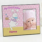 Personalized Easter Bunny Picture Frames - Happy Easter - 14199