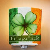 Personalized Night Lights - Lucky Clover - 14205