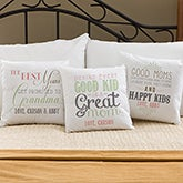 Personalized Throw Pillows - Loving Words To Her - 14223