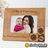 Personalized Picture Frames for Mom - Smiley Face - 14251