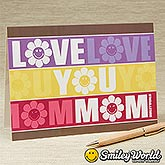 Personalized Greeting Cards for Mom - Smiley Face - 14252