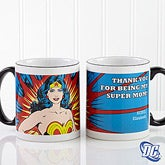 Personalized Superhero Coffee Mugs - Wonder Woman - 14255