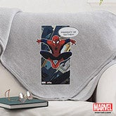 Personalized Spiderman Blanket - Ultimate Spider-Man - 14265