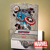 Personalized Marvel Comics Night Lights - Wolverine, Spiderman, Iron Man - 14274