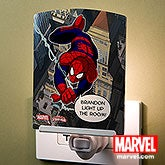 Personalized Spiderman Night Light - 14276
