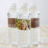 Personalized Water Bottle Labels - Proud Graduate - 14302