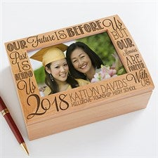 Personalized Photo Keepsake Box - Graduation Memories - 14305