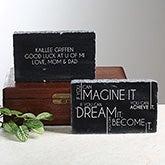 Personalized Marble Graduation Keepsake - Inspiring Messages - 14306