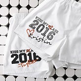 Personalized Graduation Boxer Shorts - Kiss My Class - 14314
