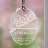 Personalized Graduation Christmas Ornaments - Class Of - 14318
