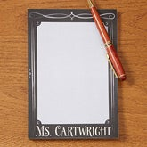 Personalized Teacher Notepads - Chalkboard - 14321