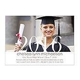 Personalized Photo Graduation Party Invitations - Proud Graduate - 14353