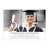 Personalized Photo Graduation Party Invitations - Proud Graduate - 14353