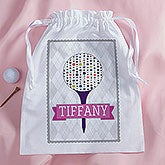 Personalize Golf Accessories Bag for Her - Sassy Lady - 14388