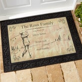 Personalized Golf Doormats - Vintage Golfer - 14392