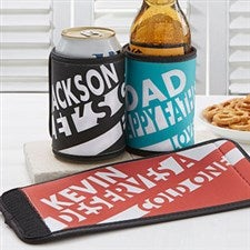 Personalized Can & Bottle Wraps - You Name It - 14404