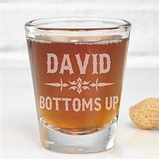 Personalized Shot Glass - Raise Your Glass - 14410