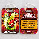 Personalized Ultimate Spider-Man Luggage Tag Set - 14420