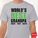 Personalized Grandpa Shirts - Grand Dude - 14438