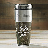 Personalized Travel Mugs - RealTree Camouflage  - 14449