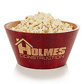 Personalized Bamboo Serving Bowl With Your Business Logo - 14454