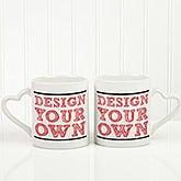Design Your Own Custom Lover's Coffee Mug Set - 14469