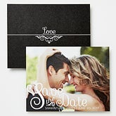 Personalized Photo Save The Date Cards & Magnets - Happiest Moments - 14497