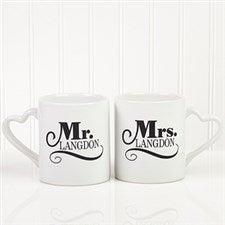 Personalized Couples Coffee Mug Set - Happy Couple - 14503