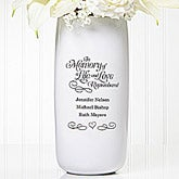 Personalized Wedding Memorial Vase - In Memory Of - 14511