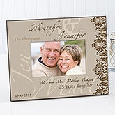 personalized anniversary picture frames anniversary couple 14574