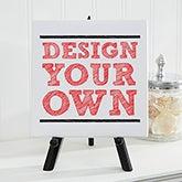 "Design Your Own Custom Tabletop Canvas Print 5.5"" x 5.5"" - 14587"