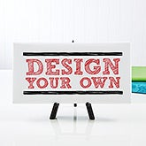 "Design Your Own Custom Canvas Print - 5.5"" x 11"" - 14588"