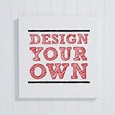 Design Your Own Custom Photo Canvas Print - Photo Memories - 14589