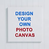 Design Your Own Custom Photo Canvas Print - Photo Memories - 14589