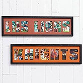 Personalized Photo Collage Picture Frames - My Team - 14595