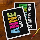 Personalized Kids Folders - All Mine - 14597
