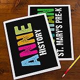 Personalized Kids Folders - All Mine - 14597