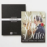 Personalized Photo Save The Date Cards & Magnets - Sweet Embrace - 14604