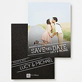 Personalized Photo Save The Date Cards - Meet In The Middle