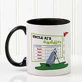 Personalized Golf Coffee Mugs - Favorite Caddies - 14649