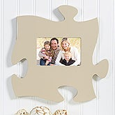 Puzzle Piece Wall Picture Frame - Tan - 14652
