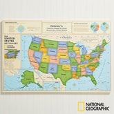 National Geographic Personalized World Map - Beginners - 14657