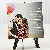 Personalized Romantic Canvas Prints - Photo Sentiments - 14662