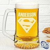 Personalized Superman Beer Mug - Beer Glass - 14709