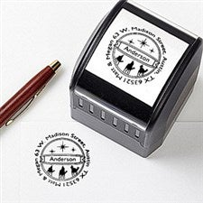 Personalized Holiday Address Stamp - Three Wise Men - 14729